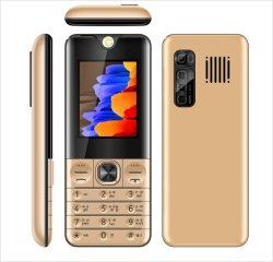 저렴한 가격의 대형 배터리 2500mAh 2g 기능 전화 중국 키패드 Bar Mobile