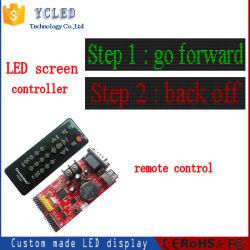 Connexion USB et RS232 Carte de commande pour écran LED de P10