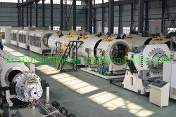 Suministro de agua de HDPE Extrusión de tubo Drainge/Maquinaria de la máquina extrusora/