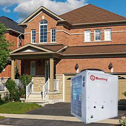 Voldoet aan de gepatenteerde R410A/R32 lucht-naar-water warmtepomp van hoge kwaliteit Voor verwarming en koeling van huishoudens
