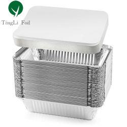 Contenitore in alluminio con coperchio