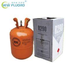 5kg de 99,5% refrigerante R290A con 30lb cilindro