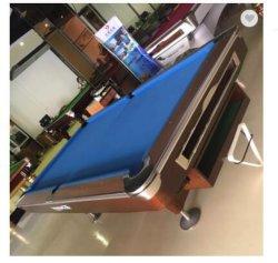 La parte superior la Pizarra 9 pies de madera maciza mesa de billar de fútbol de mesa de billar Gimnasio gimnasio en casa de ejercicios de fitness tabla tabla de ejercicios de entrenamiento deportivo de billar billar