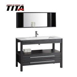خزانة الحمام في الطابق الأرضي/زينة الحمام الخشبية الصلبة/زينة الحمام الأوروبي (T9243)