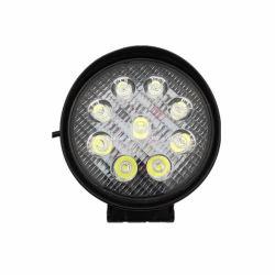 Lámpara de foco redonda 27W LED 50mm para camión Carretilla elevadora