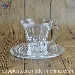 180ml het Drinken van de Kop & van de Schotel van de Mok van de koffie de Vastgestelde Reeksen van het Glas