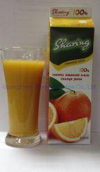 950g屋根ボックス100% NFC新しい押されたオレンジジュース