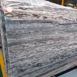 Houten Korrel/Grijs/Geel/Zilver/Beige/Travertijn/Kalksteen/Onyx/Zandsteen/Graniet/Wit/Marmeren Groot van de Plak voor Bevloering/de Tegel/Countertop van de Muur