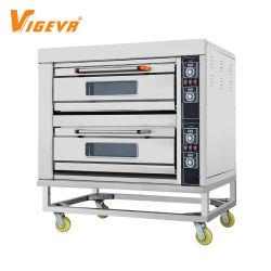 Eléctrica comercial 1 2 3 máquinas de fabricación de Horneado de la plataforma de equipos de Panadería pan horno de gas horno horno