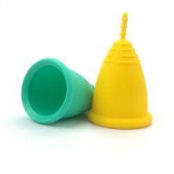 2020 preço de fábrica venda quente Lady período menstrual Silicone Recolhível Cup