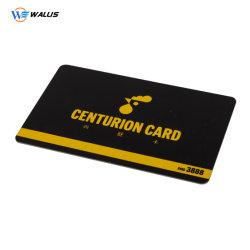La impresión de muestra gratuita de banda magnética de PVC de RFID de plástico VIP Tarjeta Regalo de la lealtad de supermercados de descuento