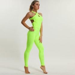 Fabrik-neue Form-Großhandelsfrauen, die Klage-Läufer-Trainings-Gamaschen-hohe Taillen-Yoga-Hosen rütteln