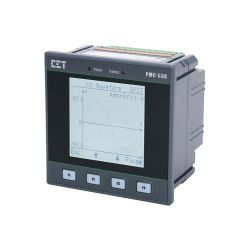 PMC-53DIN96 clase 0.5S Medidor multifunción de tres fases para la medición de energía de energía en kWh de electricidad