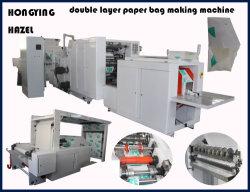Enviado para a Índia Square Fundo Saco de papel a máquina na China tornando