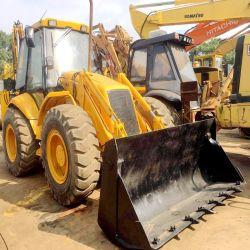 Caricatore dell'escavatore a cucchiaia rovescia della rotella del trattore del Jcb 4cx per caricamento di scavatura della fossa