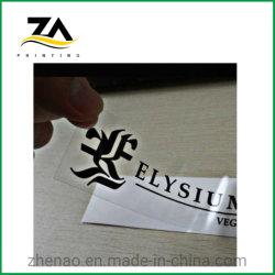 La diversión de pared de la impresión de etiquetas de papel adhesivo de vinilo transparente coche