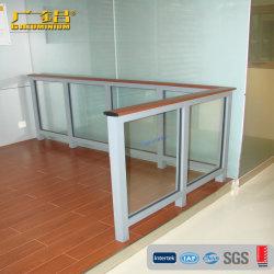 Corrimão de vidro de alumínio (Grades & Corrimãos)
