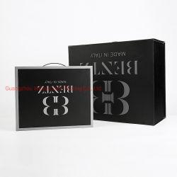 カスタム印刷の高品質のハンドルの堅いペーパーFoldableギフトの包装ボックス