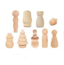 """الأطفال"""" S تصميم بدمى خشبية مبتكرة لعبة خشبية"""