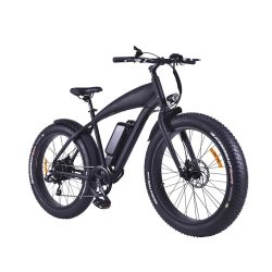 26pouces 1000W grande puissance électrique de la plage de vélo de montagne Cruiser avec batterie au lithium