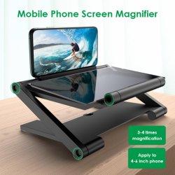 3D Screen Amplifier Handy Vergrößerungsglas HD stehen für Video Folding Bildschirm Vergrößerte Augen Halter
