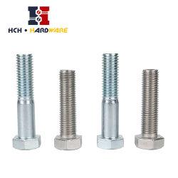炭素鋼またはステンレス鋼の六角頭の帽子ねじ十六進マシン・ボルトの十六進押さえボルトの/Hexのボルトまたはステップボルトまたはアンカー・ボルトまたはフランジのボルトかT型ボルトまたは正方形のヘッドボルト