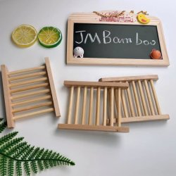 Bamboe & Houten zeep Schotel 100% natuurlijk