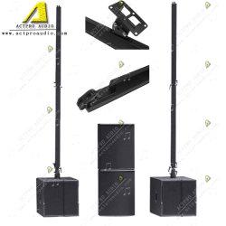 Sistema de sonido de caja de altavoz de columna PA sistema en línea Outdoor Indoor sistema portátil móvil