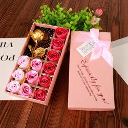Decoração de casamento festa Dom / Corpo Soap pétalas de rosas sabão de cacho floral