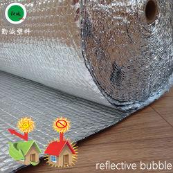 طبقة معدنية من الألومنيوم عاكسة لمواد العزل الحراري لعزل السقف