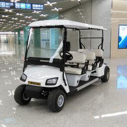 6 plazas off road con pilas de la dirección de marcha, Auto juego clásico de compensación eléctrico de Transporte de turismo de carros de golf