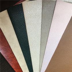 سعر أرخص مع جلد صناعي جيد الجودة PU لغطاء المقعد، قماش جلد PU المصنوع من مادة الجثو المصنوعة من مادة الجثو للحقيبة