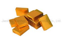 Contrecollage du rouleau de papier aluminium Aluminium Papier métallisé pour le beurre/chocolat l'enrubannage