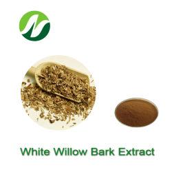 High Standard ISO Factory Natural 15%-99% Salicin Salix Alba White استخراج Willow Bark