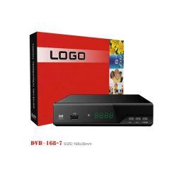 HD H. del receptor de televisión digital terrestre (TDT) HEVC 265 T2 FTA Decodificador Carcasa metálica para DVB-T2
