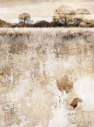 فصل خريف غابة [هندمد] [أيل بينتينغ] منزل زخرفة جدار فنية