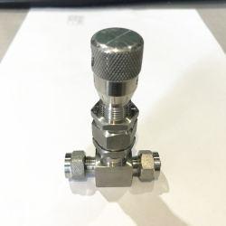 Medición de vapor de agua de la válvula de aguja de aire caliente de Venta