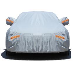Commerce de gros accessoires de voiture de l'argent Sunproof étanche résistant aux UV Full Auto capot de voiture