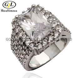 В полной мере камня AAA кубический циркон кольца моды украшения для мужчин