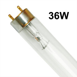 중국 T8 36W 전문 보론 공기 소독 더블엔드 자외선 UVC 정수기 박테리아를 없애는 정수기용 램프/살균기 UV 조명/UV 튜브