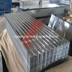 Usa valla metálica Metal Galvanizado Ondulado Panel Roofing