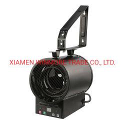 Soffitto o riscaldatore di ventilatore elettrico fissato al muro con telecomando