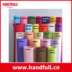 55% Krepp-Kinetik-Fertigkeit-Farben-Krepp-Papier