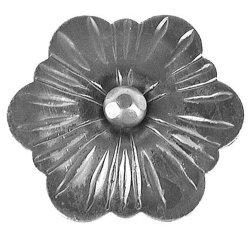 Flores de acero para la puerta de la escalera y de cerco (No. 1155-1)
