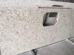 Blanco natural rosa/blanco/amarillo y marrón y gris/ Mosaico encimera de granito para la losa de piso de la pared
