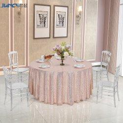 Silla transparente de la boda al por mayor y eventos de apilamiento de hielo cristal acrílico resina transparente silla Chiavari
