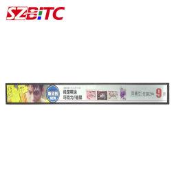 "23.6 "" LCD 광고 선수 긴 지구 매체 스크린 게시판 또는 표시"