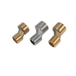 Personalizar o cotovelo de latão conexão de latão cobre parte Machininig CNC parte parte CNC Torneira de latão da Montagem