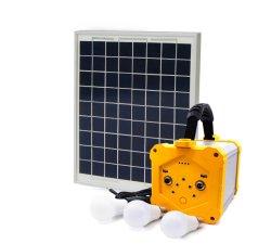 Солнечная панель 100 Вт с вентилятором и солнечной энергии постоянного тока ТВ солнечной энергии домашняя система питания