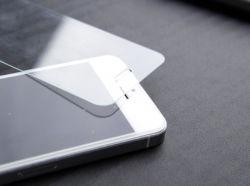 verre trempé pour iPhone 5 Film de protection en verre adhésif